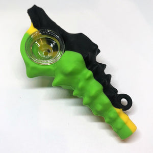 Conch Shell Themed Silicone Pipe