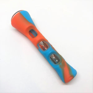 Silicone Chillum Pipe