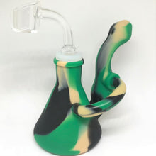 Load image into Gallery viewer, Silicone Recycler Dab Rig