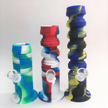 Load image into Gallery viewer, Expandable Silicone Bong Water Pipe
