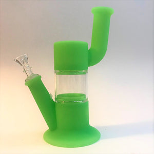 Waxmaid Silicone Dab Rig Bubbler Water Pipe