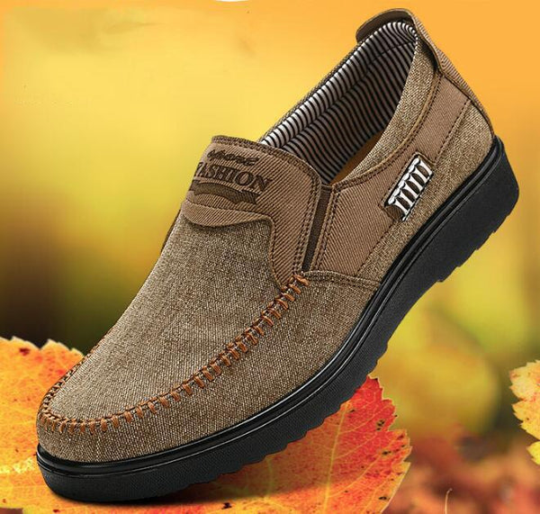 Men's Shoes - Large Size Men's Comfy Breathable Casual Shoes