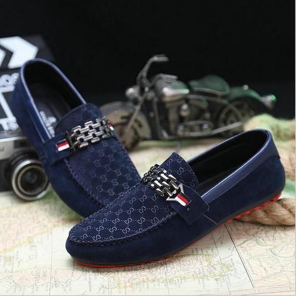 Men's Shoes - 2018 New Slip On Casual Red Bottoms Breathable Comfortable Loafers