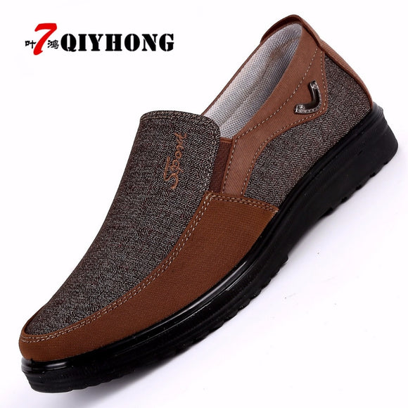 Men's Shoes - Breathable Fashion Soft Flat Driving Shoes