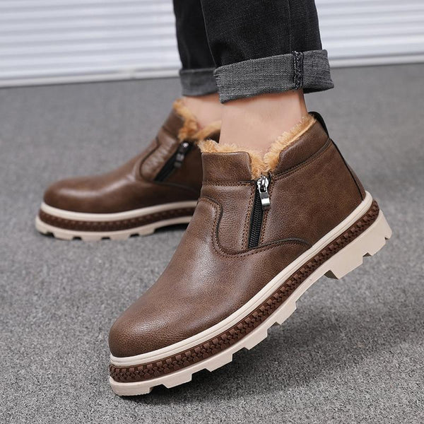 Shoes - 2018 New Arrivals Fashion Leather Men's Comfortable Boots