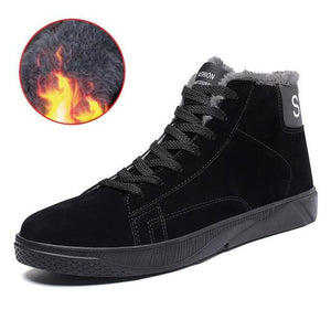 Shoes - 2018 New Fashion Style Winter Men Casual Snow Boots