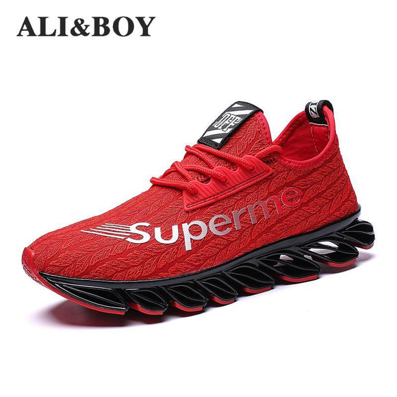 Men Trending Style Breathable Trainers Sports Shoes