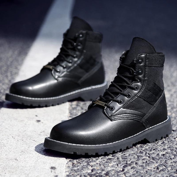 Shoes - Winter Warm Couple Leather Snow Boots