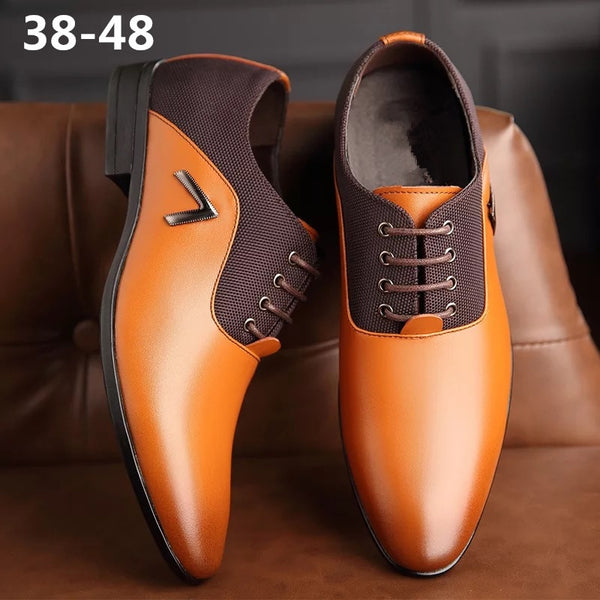 Jollmall Men Shoes - New Male Big Size Genuine Leather Shoes(Buy 2 Get 10% off, 3 Get 15% off Now)