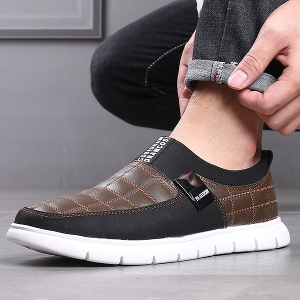 Men's Shoes - Autumn spring men's Big Size Leather Casual Shoes(Buy 2 Get 10% off, 3 Get 15% off Now)