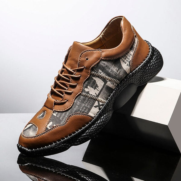 Jollmall Men Shoes - High Quality Genuine Leather Men's shoes