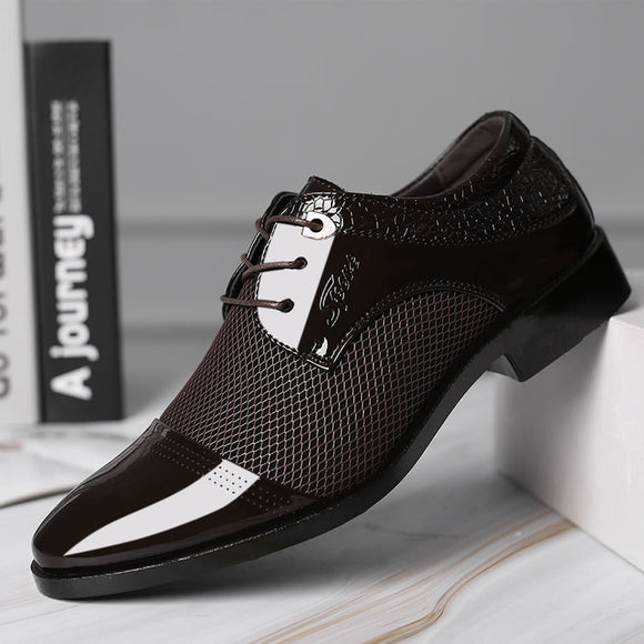 Men's Shoes  - Autumn Fashion Business Men Casual Shoes