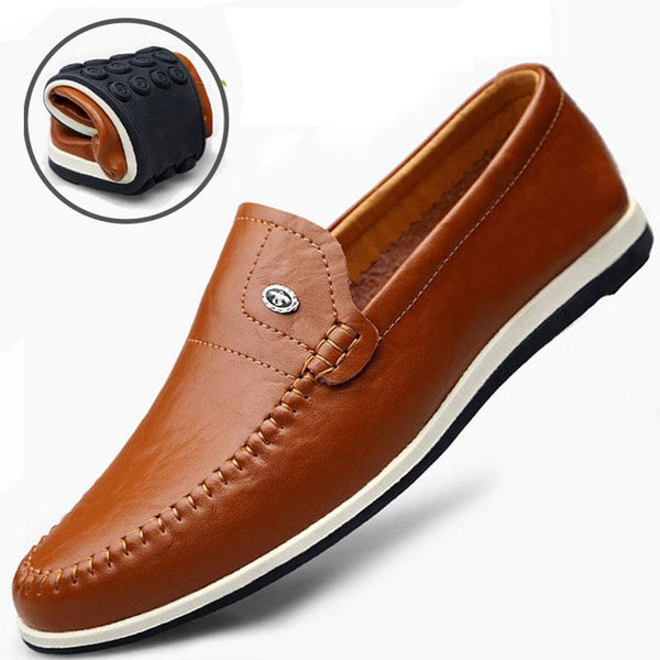 Men's Shoes - Classic Soft Male Breathable Driving Shoes