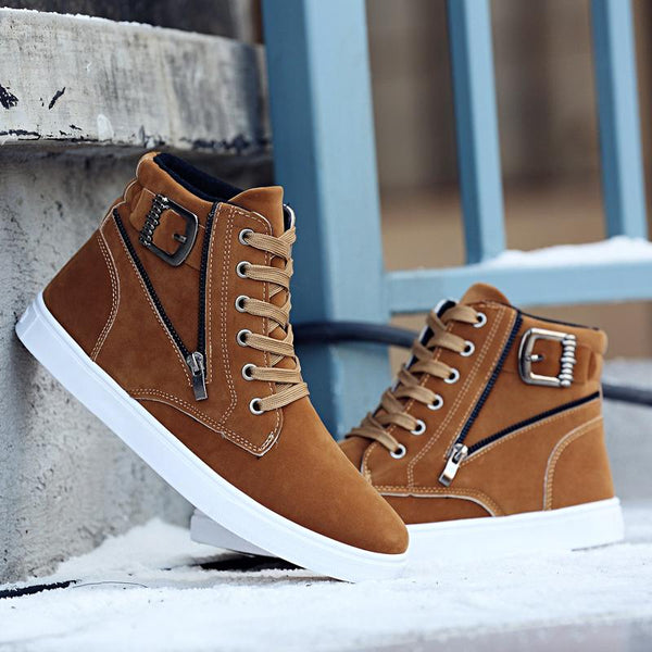 Shoes - 2018 New Men's Super Warm Fashion Comfortable Ankle Boots
