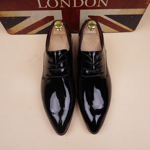 Shoes - Men's Pointed Toe Dress Shoe Formal Casual Shoes