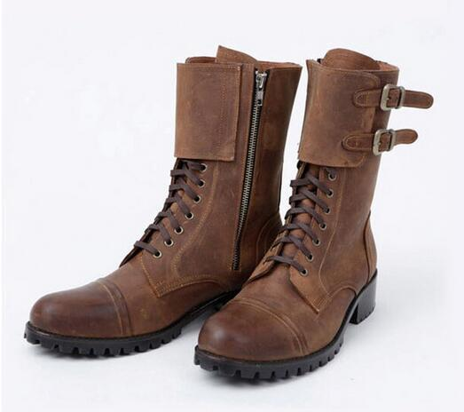 Shoes - Men's Cowboy Retro Leather Boots