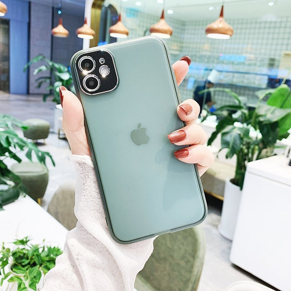 Jollmall Phone Case - Matte Hard Phone Case With Camera Protection For iPhone(Buy 2 Get 10% off, 3 Get 15% off Now)