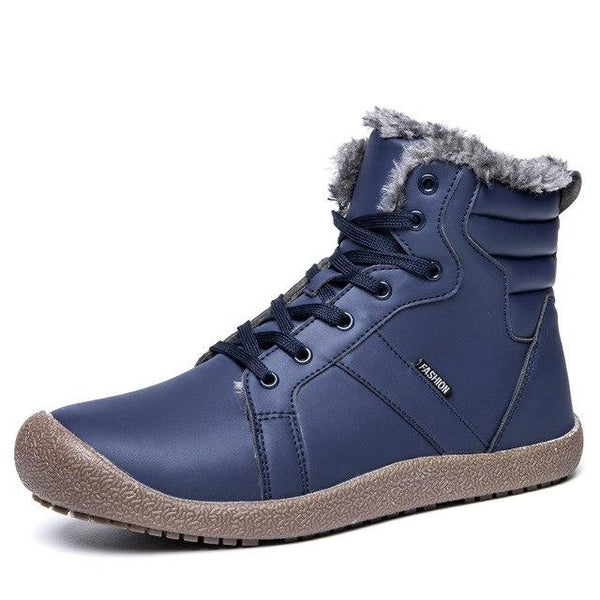 Shoes - Super Warm Unisex Leather Snow Boots