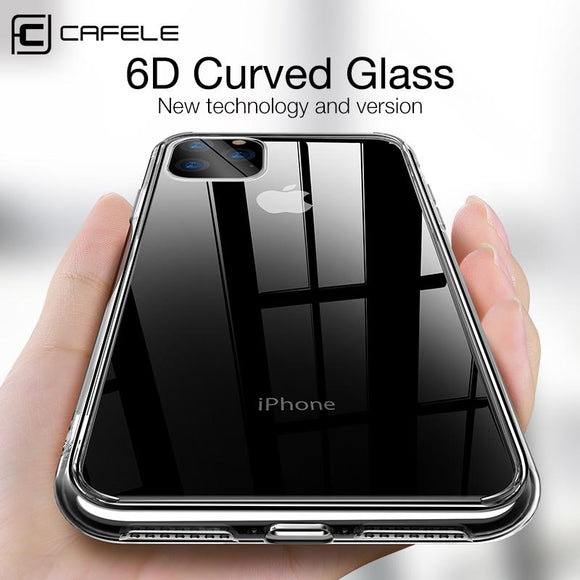 Phone Case - Tempered Glass and TPU Edge Case For iPhone 11
