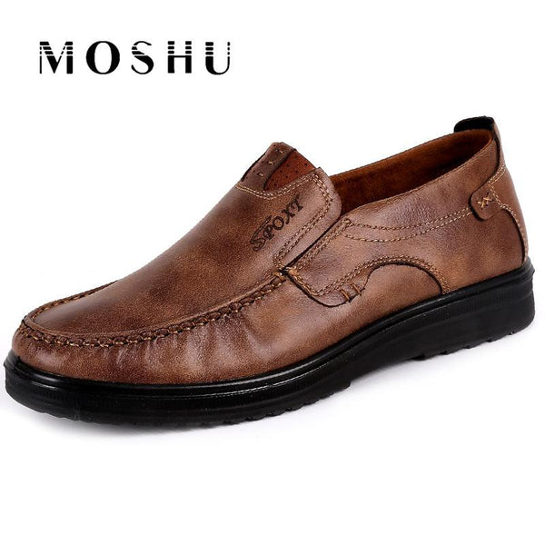 Plus Size 2018 New Fashion Men Slip-on Shoes