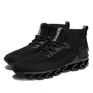 Shoes - Men's High-top Breathable Sneakers