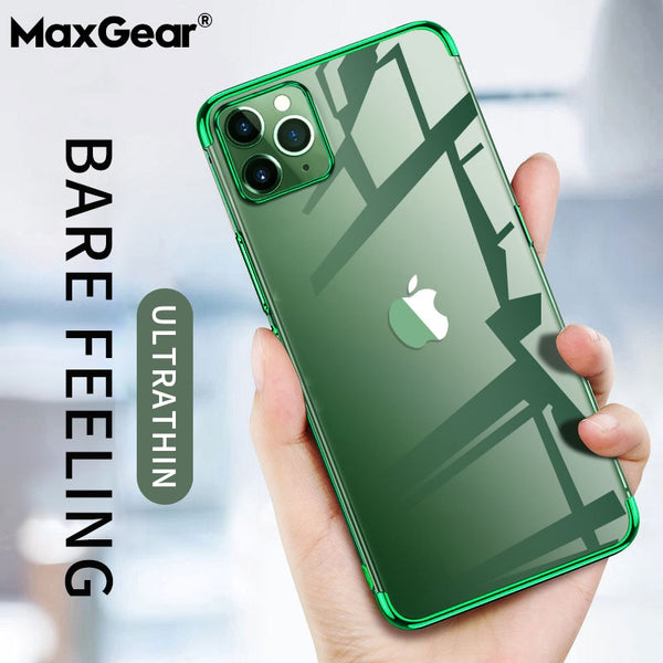 Phone Case - Laser Plating Luxury TPU Soft Clear Cover For iPhone(Buy 2 Get 10% off, 3 Get 15% off Now)
