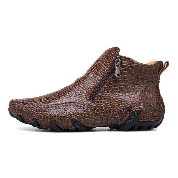 Men Shoes - Male fashion outdoor Martin Chelsea Ankle Boots