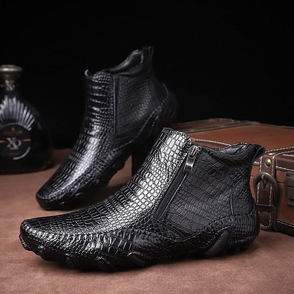 Men Shoes -  Male fashion outdoor Martin Chelsea Ankle Boots(Buy 2 Get 10% off, 3 Get 15% off Now)