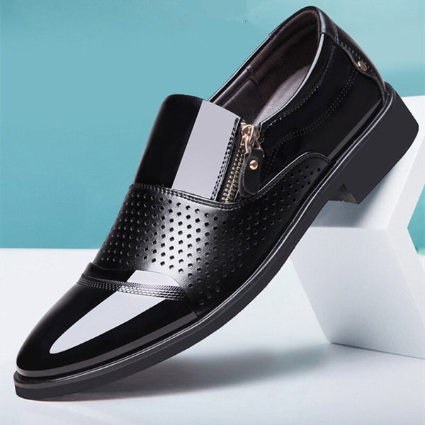 Jollmall Men Shoes - Formal Business Breathable Summer Men Footwear(Buy 2 Get 10% off, 3 Get 15% off Now)