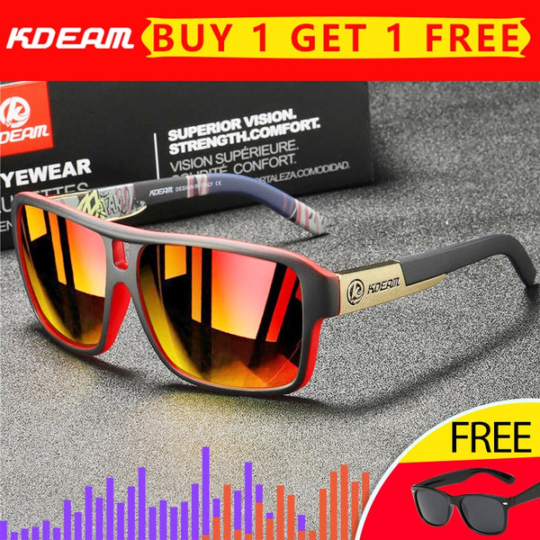 Jollmall Sunglasses - Brand Driving Polarized Glasses Outdoor UV400 Sunglasses