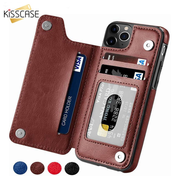 Phone Case - Flip Leather Vintage Phone Cases For iPhone(Buy 2 Get 10% off, 3 Get 15% off Now)