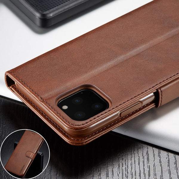 Jollmall Phone Case - Magnetic Wallet Flip Leather Shockproof Phone Coque