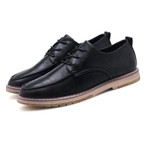 Shoes -  2018 High Quality Fashion Men's Leather Casual Shoes