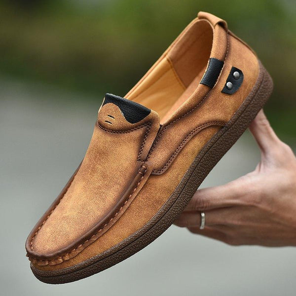 Men's Shoes - Fall Fashion Classy Men Suede Comfortable Loafers
