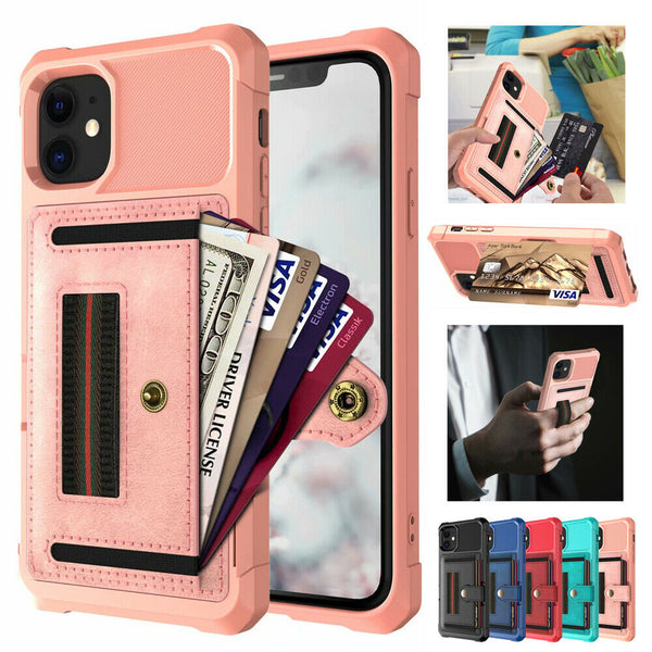 Jollmall Phone Case - Card Magnetic Holder Phone Case For iPhone(Buy 2 Get 10% off, 3 Get 15% off Now)