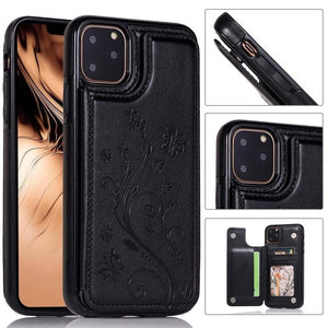 Jollmall Phone Case - Luxury Embossed Flower Leather Case(Buy 2 Get 10% off, 3 Get 15% off Now)