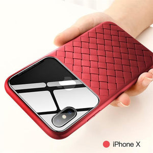 Phone Case - Luxury Grid Clear Phone Case