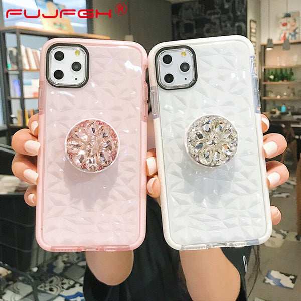 Phone Case - Double Colors Soft TPU Transparent Shockproof Cover For iPhone