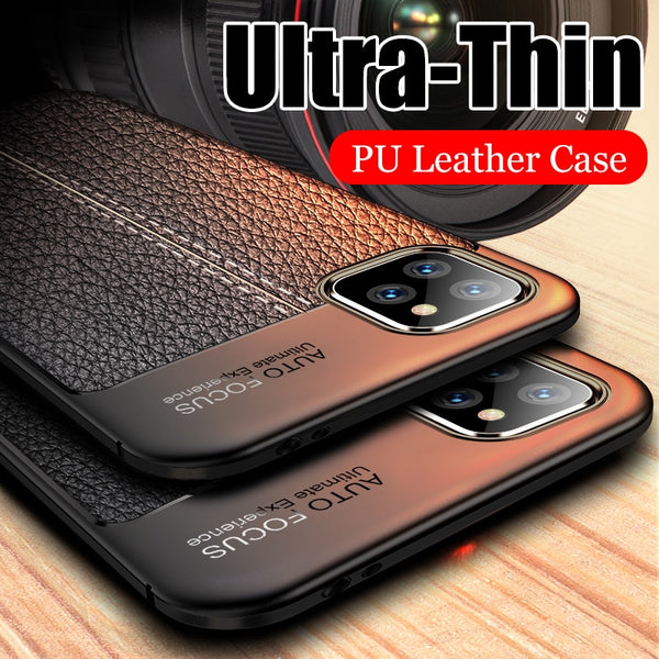 Jollmall Phone Case - Luxury Leather Silicone Soft Case For iphone(Buy 2 Get 10% off, 3 Get 15% off Now)