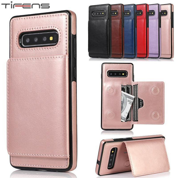 Phone Case - Luxury Leather Silicone Wallet Phone Back Cover(Buy 2 Get Extra 10% OFF,Buy 3 Get Extra 15% OFF)