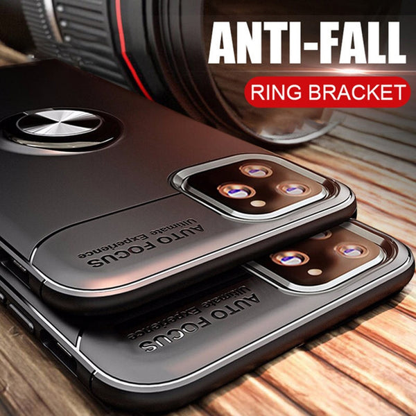 Jollmall Phone Case - Luxury Magnetic Ring Phone Case