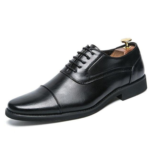 Shoes - Luxury Brand Men's Genuine Leather Dress Shoes
