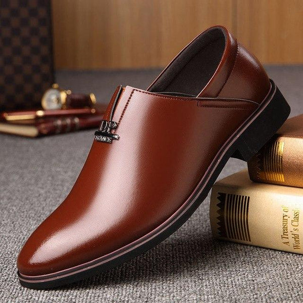 Shoes - 2018 Men's Leather Formal Dress Shoes