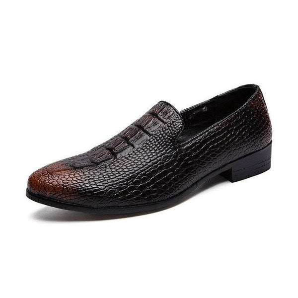 Men Flats Gentleman Casual Leather Oxford Shoes