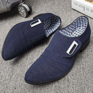 Plus Size Men Canvas Comfy Loafers