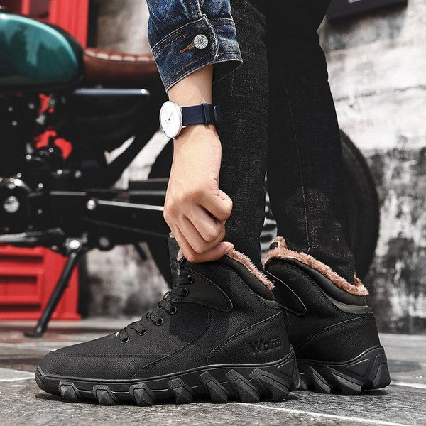 Shoes - Men High Quality Fashion Ankle Boots