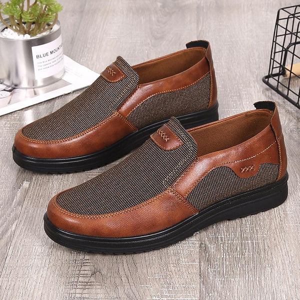 Men's Shoes - Men's Canvas Breathable Loafers Slip-on Footwear
