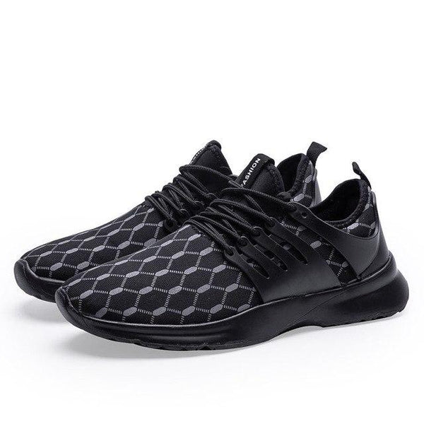 Men Fabric Breathable Sports Walking Shoes