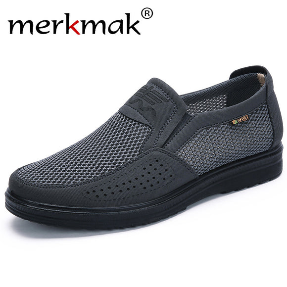 Jollmall Men Shoes - Men Summer Style Mesh Flats Men Loafer(Buy 2 Get 10% off, 3 Get 15% off Now)