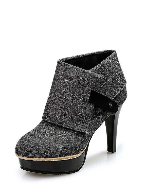 Women Shoes - All Match Trendy Platform High Heel Shoes